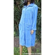 veste de chambre femme robe de chambre femme hiver veste boutonnée bleu violet achat