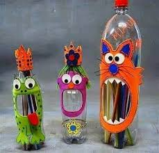 Recycled Project Art Ideas Creative And Craft With From Waste Materials For Kids