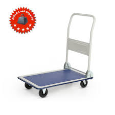 Ikayaa 150kg Capacity Folding Platform Truck Cart Dolly Hand Truck ...