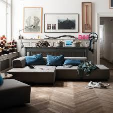 freistil 184 sofa récamiere links bezug beigegrau 7404 standardfuß kunststoff