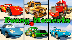 100 Truck Songs McQueen Spiderman Funny Moments 4 Cars The King Mack Mater
