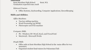 Example Resume For High School Graduate In Philippines Save Of A Highschool
