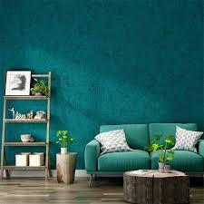 nordic stil pfau blau grüne tapete plain kieselalgen schlamm
