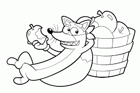 10 Pics Of Swiper Fox Coloring Page