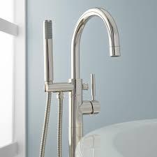Delta Floor Mount Tub Faucet by Chrome Bath Hardware Freestanding Tub Faucets Delta Freestanding