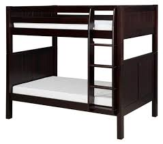 Twin Over Twin Bunk Beds With Trundle by Sustainable Windsor Twin Over Twin Bunk Bed In Natural Maple