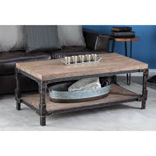 Walker Edison 3 Piece Contemporary Desk by Walker Edison Furniture Company Coffee Table Accent Tables