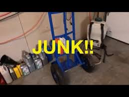 Harbor Freight Hand Truck Junk DONT BUY