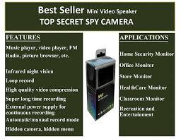 Mini Hidden Camera For Bathroom by Amazon Com Top Secret Spy Camera Mini Clock Radio Hidden Dvr