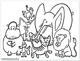Coloring Pages Zoo Animals Decoration Tablet Free Printable Worksheets In Spanish For Preschoolers Full Size