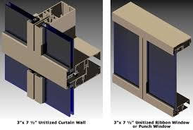 admiral glass company agc ucw unitized glazed wall systems
