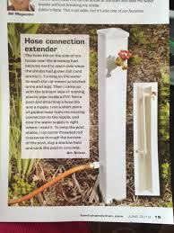 Hose Bib Extender Pvc by Hose Connection Extender Home Improvements Pinterest Gardens