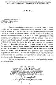 Poder Judicial Del Estado De Baja California Sur