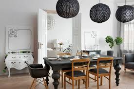 esszimmer in schwarz weiß barocker stilmix otto