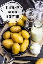 einfaches und kalorienarmes kartoffelgratin cremig