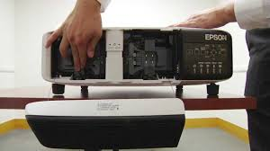 Epson 8350 Lamp Replacement by Replacing A Lamp For The Epson Pro Z8000 Series Youtube