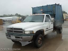 100 Pickup Truck Dump Bed 1999 Dodge Ram 3500 Dump Bed Pickup Truck Item DD4276 SO