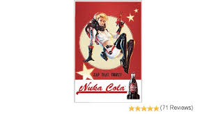 gb eye 61 x 91 5 cm fallout 4 nuka cola maxi poster amazon co