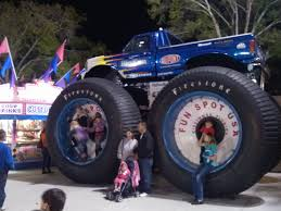 Big Foot, Monster Truck, Fun Spot USA, Kissimmee, Florida. Image