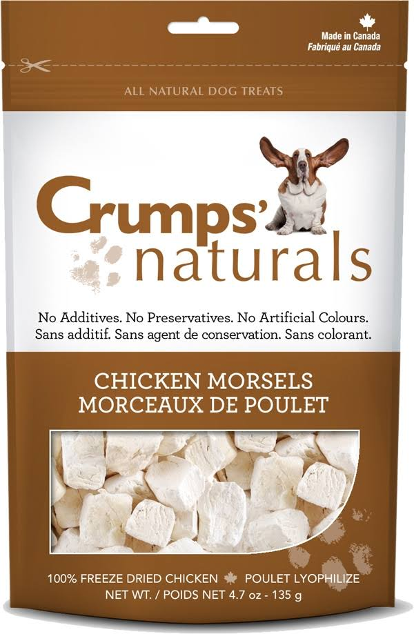 Crumps' Naturals Chicken Morsels Dog Treats - 4.7oz