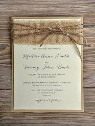 How To Make Rustic Wedding Invitations Your Own Best Of