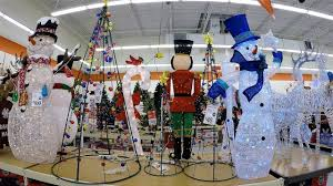 Christmas Trees At Kmart by 4k Christmas Section At Big Lots Christmas Shopping Christmas