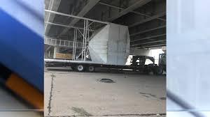 100 Truck Stuck Under Bridge Roads Back Open After Semi Truck Driver Gets Stuck Under Highway 75