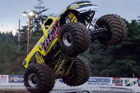 100 Monster Truck Horsepower And Acrobatics S Mark Ahrens Photography