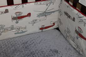 Themed Airplane Crib Bedding Fun Ideas Airplane Crib Bedding