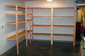 Build Wood Garage Shelf by Lofty Design Ideas How To Build Wood Shelves Stylish Diy Fanatic