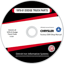 1978-1981 Dodge Truck Parts Manuals On CD | Detroit Iron 092017 Dodge Ram 1500 Spare Tire Winch Hoist Lift Assembly Mopar 7981 Truck Parts Manuals On Cd Detroit Iron Rear Bumper Cover Flame Red Pr4 Oem Srt10 Mopar Side View Mirror Puddle Light Passenger Right Bushwacker Flares Murchison Products 07 3205 5011 092015 Ram Front Tow Hooks Kit 82210967 2003 03 2500 Slt Quality Used Replacement Trailer Hitch Receiver 52014178ae 3500 2010 Great Deals From Warehouse Salvage In Dodge Ebay Stores G56 Bent Stainless Factory Shifter 3 How To Install Extension Style Fender 0209 Buy