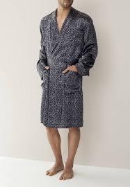 robe de chambre en zimmerli zn 100 robe de chambre en soie piet nollet