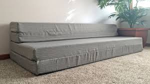 Foam Flip Chair Bed by Lucid Folding Mattress U0026 Sofa With Removable Indoor Outdoor Fabric