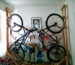 Ceiling Bike Rack Diy by How Do You Guys Store Your Bikes The Hub Mountain Biking