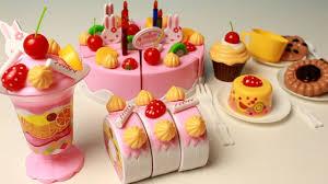 cuisine pour bebe cutting velcro cakes birthday cake tea pour bebe