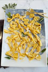 Pumpkin Gnocchi Recipe Uk by Bowtie Pumpkin Pasta With Sage Butter U2013 A Beautiful Mess