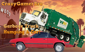 Gta 5 - Garbage Truck Humping A Car! Gta 5 Glitch! - YouTube