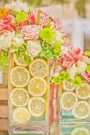 A Pink Lemonade Garden Party Centerpiece