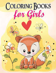 Gorgeous Coloring Book For Girls The Really Best Relaxing Colouring 2017 Cute Animal Dog Cat Elephant Rabbit Owls Bears