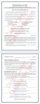 Healthcare Administrator Resume Sample