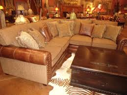 Rustic Furniture Sectional Sofa
