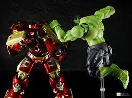 Chogokin X SHFiguarts Hulkbuster Blocks Coloriage Hulk Buster
