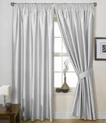 Amazon Uk Living Room Curtains by Silver Grey Curtains Faux Silk Charisma 66 U0027 U0027 X 72 U0027 U0027 Amazon Co