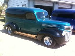 100 Panel Trucks 1946 Chevy Truck FOR SALE Delivery Van