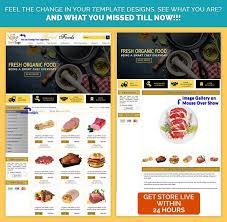 FreshFood Theme ItemDescription Template EBayStoreDesigns For Your Ebaystore Install