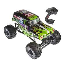 100 Monster Jam Toy Truck Videos Axial SMT10 Grave Digger 110th Scale Electric 4WD
