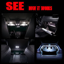For AUDI A6 4F C6 S6 RS6 AVANT FULL LED Interior Lights KIT 21 Pcs ...