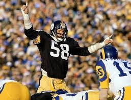 Original Iron Curtain Steelers who were the linebackers for the steel curtain defense