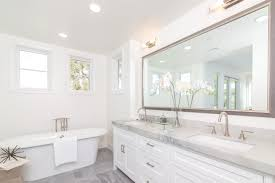 White Bathroom Design - Orange County & Los Angeles Real Estate ... Residential Interior Exterior 3d Design Services Designers Call Bathroom Vanities North Hollywood Los Bathroom Remodeling Angeles Remodeling Sherman Oaks Glossier Is Here And There Are 5 Things We Want To Copy Modern Lauren Jacobsen Red Design Orange County Real Farmhouse Without Vanity Master Classic Inspirational This Companies Creative Decoration Remodel Contractor In Bathhub Gmt Dream Builders