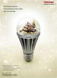 toshiba led bulb snow dome adeevee